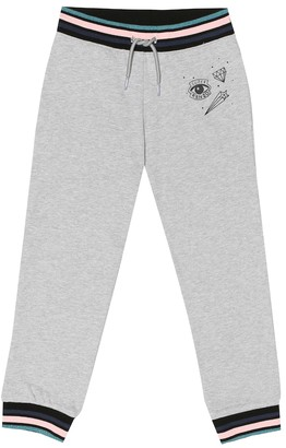 Kenzo Kids Cotton-blend trackpants