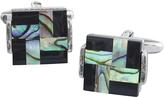 Johnston & Murphy Inlaid Geo Square Cufflinks