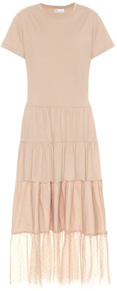 RED Valentino Cotton-jersey dress