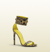 Gucci Ankle-Strap High Heel Sandal