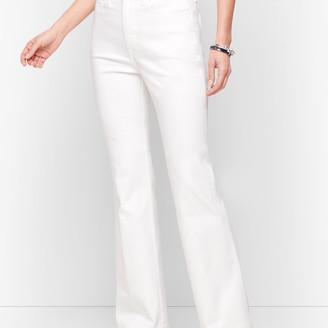 Talbots Flare Jeans - White