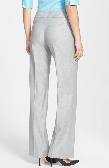 HUGO BOSS BOSS 'Tuliana2' Stretch Wool Trousers