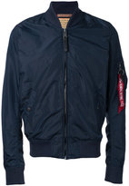 Alpha Industries arm pocket bomber jacket - men - Nylon - S