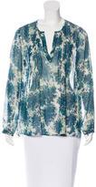 Joie Silk Floral Print Blouse