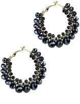 Saachi Shaam Beaded Hoops