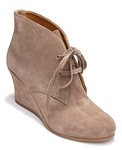 "Dolce Vita Pellie"" Lace-Up Wedge Ankle Boots"