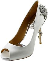 Badgley Mischka Royal Blanc Femmes Po