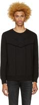 Diesel Black S-capitan Sweatshirt