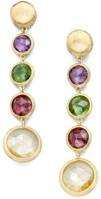 Marco Bicego Jaipur Semi-Precious Multi-Stone & 18K Yellow Gold Drop Earrings