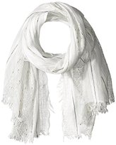 Pure Style Girlfriends Women's Stripe Scarf