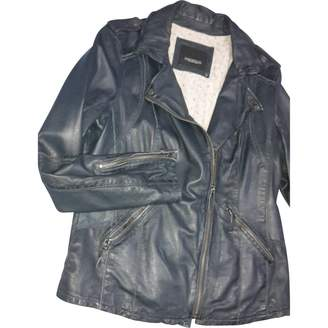 Oakwood \N Grey Leather Leather jackets