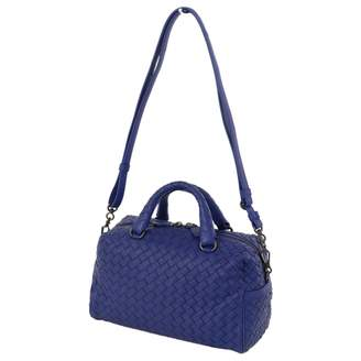 Bottega Veneta Blue Leather Travel bags