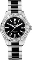 Tag Heuer WAY131E.BA0913 Aquaracer stainless steel diamond and ceramic watch