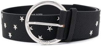 Liu Jo star stud buckled belt