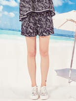 Blank Bandana Shorts Bk