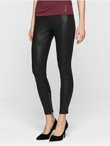 Calvin Klein Peggy Coated Jersey Leggings