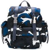Valentino Garavani Valentino Rockstud camouflage backpack - men - Leather/Canvas/metal - One Size