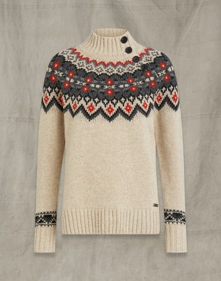 Belstaff FAIRISLE WOOL FUNNEL NECK Multicolor