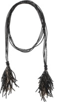 Brunello Cucinelli Fringed Lariat Necklace