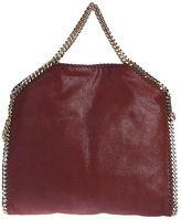 Stella McCartney Faux Leather Falabella Fold Over Tote
