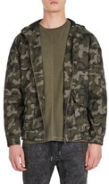 Zanerobe Men's Box Camo Hooded Jacket