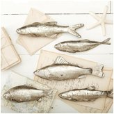 Twos Company Two's Company Silver Stream Fish, Set of 5