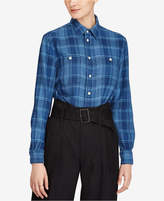 Polo Ralph Lauren Relaxed-Fit Plaid Twill Cotton Shirt