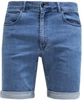 Suit Field Denim Shorts Denim Light Blue