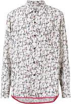 Lanvin abstract print casual shirt