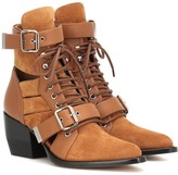 Chloé Rylee suede ankle boots