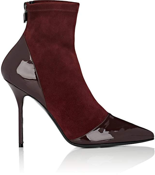 Pierre Hardy Women's Dolly Suede & Patent Leather Ankle Boots