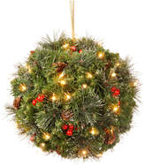 Crestwood National Tree Company 12 Spruce Kissing Ball w/ Battery Operated Warm White LED L