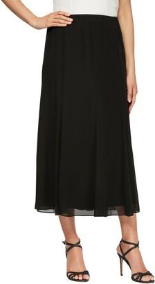 Alex Evenings Chiffon Detail Skirt