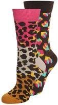 Happy Socks 2 Pack Socks Pink