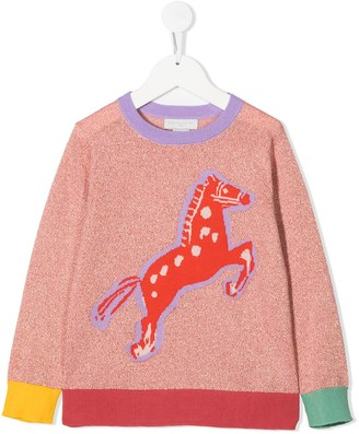 Stella Mccartney Kids Horse Print Jumper