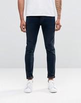 Lee Malone Super Skinny Jeans Raven Blue