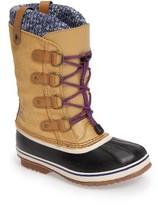 Sorel Girl's Joan Of Arctic Knit Waterproof Boot