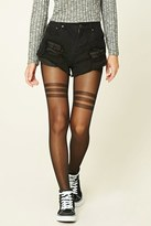 Forever 21 FOREVER 21+ Striped Tights
