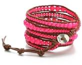 Chan Luu Neon Beaded Wrap Bracelet