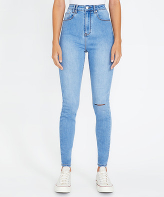 Insight Sami Super High Jeans Vivid Blue