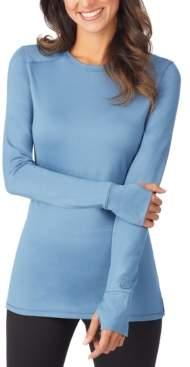 Cuddl Duds Women's Thermawear Long-Sleeve Crewneck Top