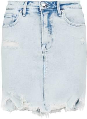 Good American Distressed Bombshell Skirt