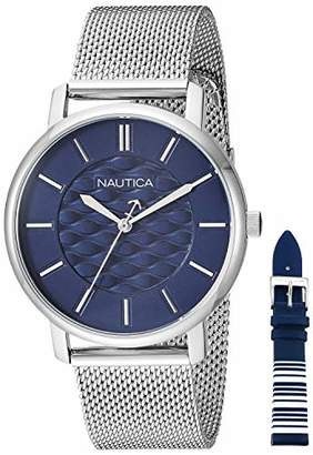 Nautica Women's Coral Gables Japanese-Quartz Watch with Stainless-Steel Strap