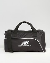 New Balance Small Holdall In Black Nb500043-001
