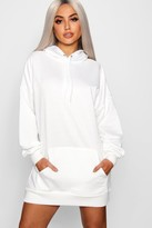 boohoo Lola The Perfect Oversized Hooded Sweat Dress