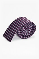 French Connection Lucas Stripe Silk Tie