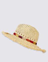 M&S Collection Braid Trim Hat