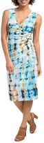 Lysse Lupe Abstract Print Dress