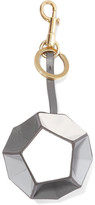 Anya Hindmarch Trigger Leather Keychain - Gray