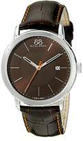 88 Rue du Rhone Men's 87WA140022 Analog Display Swiss Quartz Brown Watch